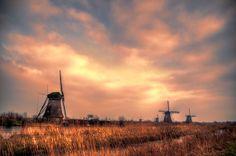 Kinderdijk IV by Watze D. de Haan