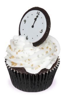 New Year's Countdown Cupcakes - Holidays