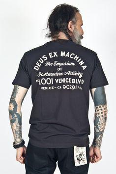 Deus Ex Machina - Venice Address Tee Black