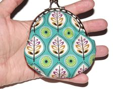 Forest coin purse with purse frame by Monalinebags on Etsy, $15.00
