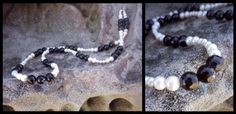 Black Agate, Agate Necklace, Statement Jewelry, Fresh Water, Beaded Bracelets, Gemstones, Pearls, Facebook, Crystals