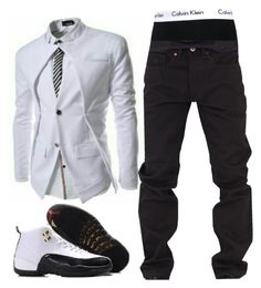 """""""Untitled #110"""" by itzyalocalwhiteboy on Polyvore featuring Calvin Klein, Rocawear, men's fashion and menswear"""