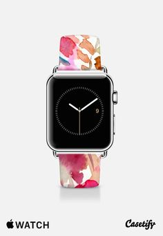 Local Color Pink Apple Watch Band by Jacqueline Maldonado Apple Watch Accessories, Tech Accessories, Pink Apple Watch Band, Local Color, Apple Products, Cool Gadgets, Fashion Watches, Casetify, Iphone Watch Bands