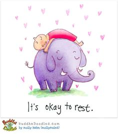 It´s ok to Rest by Mollycules