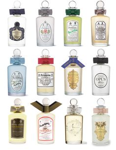 Penhaligon's... lovely scents and beautiful bottles... packaging is important!