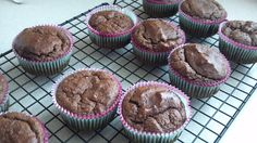 No Flour and Sugar Free Chocolate Apple and Banana nut muffins (advocare 24 day challenge friendly)
