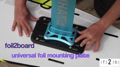 Universal hydrofoil mounting plate