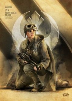 jyn rogueone rogue one key forces rogueonekeyforces starwars star wars Star Wars Rebels, Star Wars Poster, Star Wars Art, Star Trek, Starwars, Rogue One Star Wars, Science Fiction, Love Stars, Star Wars Characters