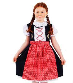 Modell: Annabell  von Coala #Kinderdirndl, Coala ist Tradition, Tradition ist Familie, Familie ist Liebe, Trachtenmode für Mädchen aus dem Herzen Wiens