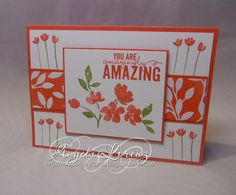 Angela Lorenz: Occasions Catalogue 2015 - Painted Petals, Irresistibly Yours DSP, #stampinup