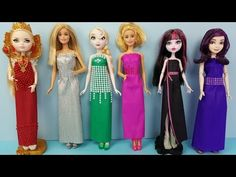 Tutorial Como Fazer Roupa de Academia Para Bonecas Barbie Descendentes MH EAH - YouTube