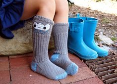 raincloud socks by katie boyette