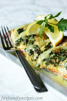 Fathers Day Herb Salmon - Favorite Family Recipes! Also has random good ideas for cooking and what not to dos