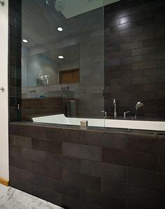 Calming Green Bathroom With Shower  Model Remodel Seattle Wa Stunning Bathroom Remodel Seattle Review