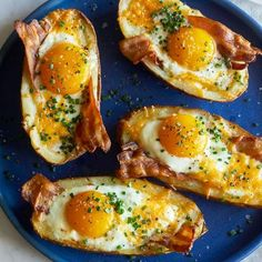 A recipe for Twice Baked Breakfast Potatoes.