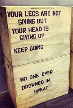 Box jump motivation … #RunnerMotivation , #Junior10K, #Running, Follow us on FB - https://www.facebook.com/JUNIOR10K