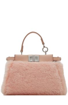 e656b003da Love this by FENDI Peek-A-Boo Micro Leather Tote With Shearling -  1875