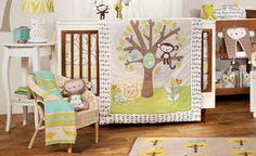 cute little monkey quilt