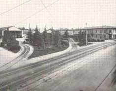 Legnano, il capolinea dei Tram che, fino alla fine degli anni '50, collegavano Legnano con Milano, Rho e Gallarate. #Legnano #Città #Tram #Transport