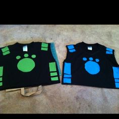 Wild Kratts creature power vests - DONE! : )