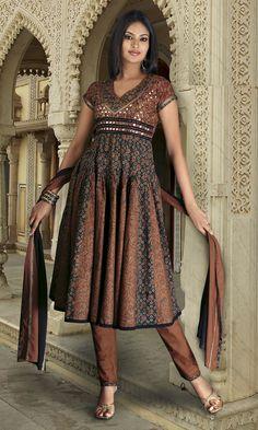 Indian Shalwar Kameez Dress Designs: Punjabi Suits Design
