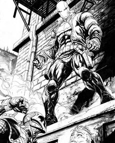 Black and white. #Redhood in #Deathstroke 15. This issue is in stores right now. #dccomics #tylerkirkham #dc #Gotham #SladeWilson #jasontodd #artwork #comicartist #comics #comicart #drawings #drawing #draw #sketch #sketches