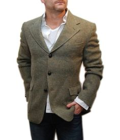 Orvis Men's Lightweight Highland Tweed Sport Coat / Long, Light ...