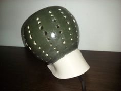 Oblique lamp by Muddymood on Etsy Riding Helmets, Etsy