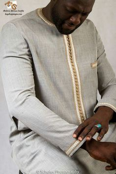 Modern African Outfit Comes with top and pant African Shirts For Men, African Dresses Men, African Attire For Men, African Wear Styles For Men, African Clothing For Men, Latest African Fashion Dresses, African Men Fashion, Mens Fashion, African Beauty