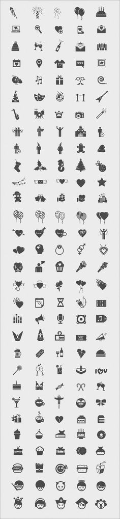 アイコンは全150種類
