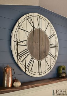 Time Stands Still for this Pallet Clock