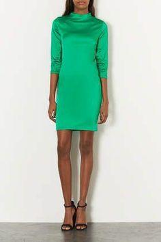 REVEL: Green Cocktail Dress