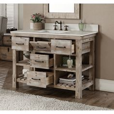 Love This Driftwood Bathroom Vanity Decorating Ideas Pinterest Vanities And