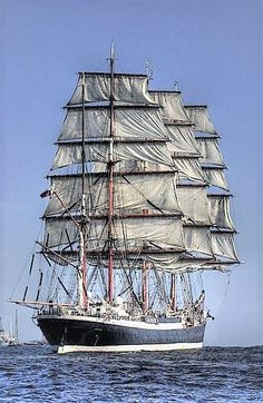 Four-Masted Barque 'Sedov'.