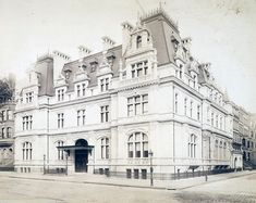 Astor Mansion 65th & Fifth Avenue and designed by Richard Morris Hunt, this house was a twin mansion for Caroline Astor and her son, John Jacob Astor and his family.