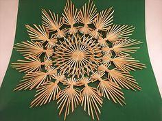 2-er Set große Strohsterne, 45 cm, Strohstern,Stern,Weihnachtsstern,Weihnachten | eBay