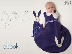 Ebook Schlafsack Tondo & Kuscheltier Tondino - mit Foto-Anleitung. Schnittmuster mit Nähanleitung, Baby, Kleinkind von pattern4kids auf Etsy