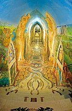 My friend is going here. Mosaic wonderland, among many other things. Very cool
