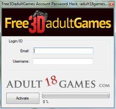 Free3DadultGames Account Password Hack