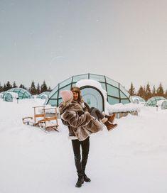 """33.2k Likes, 307 Comments - LAUREN BULLEN (@gypsea_lust) on Instagram: """"Always sweeping me off my feet  @kakslauttanen_arctic_resort"""""""