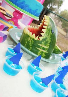 Amp up your summer party with jello treats.