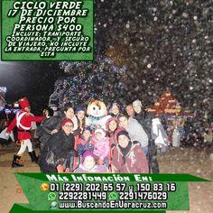 Vamos este sábado 17 de diciembre al Bosque del Ciclo Verde, saliendo desde Veracruz o Cardel. El paquete te incluye transportación viaje redondo, coordinador de grupo y seguro de viajero. Precio por persona $400 Costo de las entradas $370 adultos y $280 niños  Informes WHATSAPP 2292281449 y 2291476029 Teléfonos: 2026557 y 1508316 PRIP 52*15*64029 http://www.buscandoenveracruz.com/2016/11/viajemos-a-el-bosque-del-ciclo-verde-este-17-de-diciembre-2016/