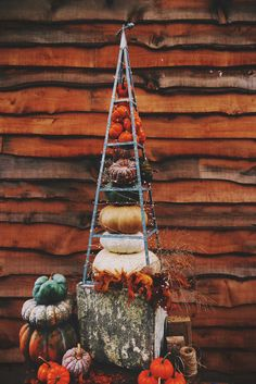 Fall Pumpkin Decor Inspiration With Terrain If you guys caught my henna and wood burned...