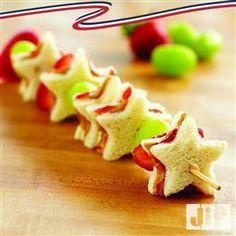 PB & J Fruit Kabobs from Jif®