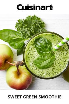 Sweet green smoothie with apples, mango, and kaleYou can find Kale and more on our website.Sweet green smoothie with apples, mango, and kale Vegetable Smoothie Recipes, Fruit Smoothie Recipes, Apple Smoothies, Healthy Smoothies, Blender Recipes, Apple Recipes, Blender Food Processor, Food Processor Recipes, Blackberry Smoothie