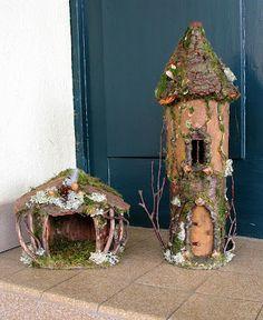 adorable little fairy houses