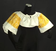 VINTAGE Slovak Folk Costume Blouse