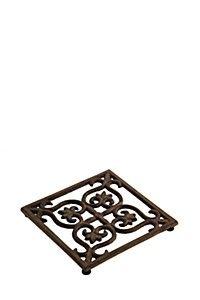 SQUARE CAST IRON TRIVET Home Online Shopping, Mr Price Home, Wood Grain, Terracotta, Home Kitchens, Cast Iron, Copper, Ceramics, Home Decor
