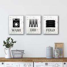 Excited to share the latest addition to my #etsy shop: Wash Dry Fold Laundry Room Art - Wall Art Set - Chalkboard Look - Laundry Room Wall Decor - laundry subway art - wall art PRINTS OR CANVASES Decor, Room, Fold, Wall Decor, Wall Art Sets, Home Decor, Laundry Room Wall Decor, Wall Decor Laundry, Prints