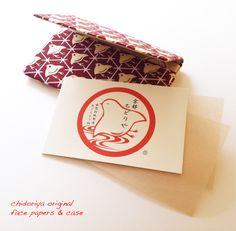 Original Chidori Face Paper Case